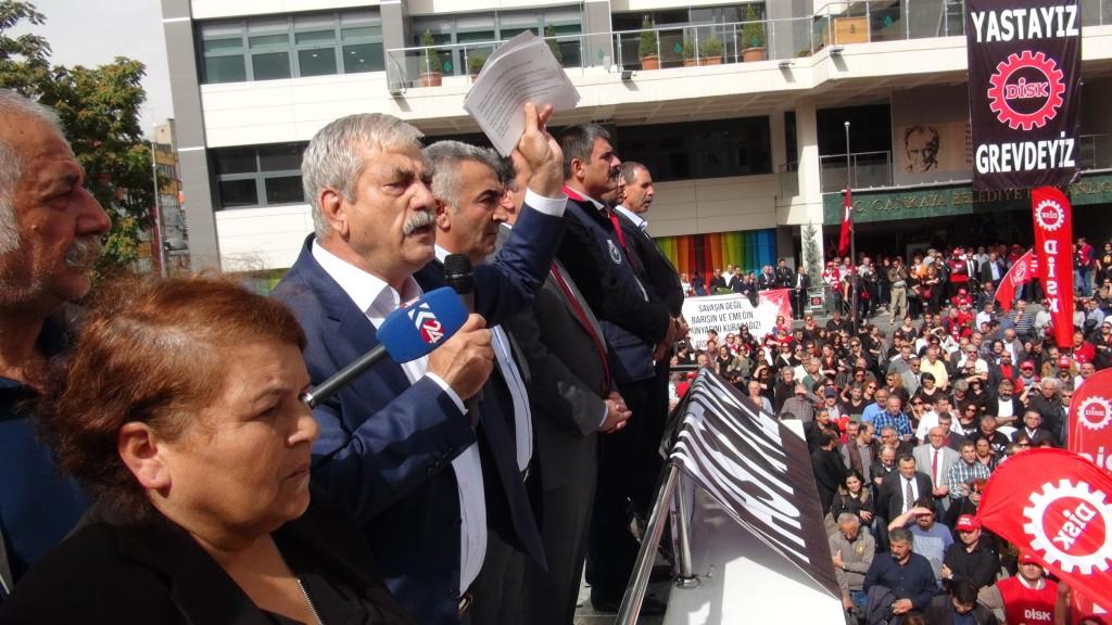Ankara Yas eylemi